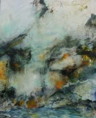 I beckon you by Iben Bjerre   maleri