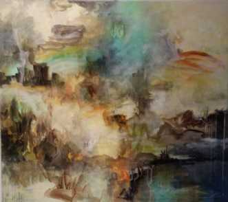 No Tittel 3 by Iben Bjerre | maleri