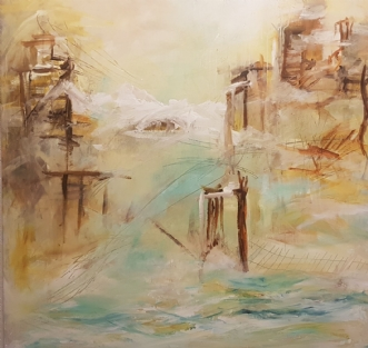 Mindfull by Iben Bjerre | maleri