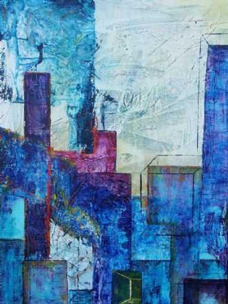sjælens anonymitet by Iben Bjerre | maleri