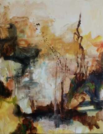 No Tittel 7 by Iben Bjerre | maleri