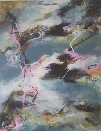 Mooving by Iben Bjerre | maleri