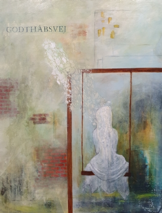 Godthåbsvej by Iben Bjerre | maleri