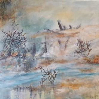 Mosekonen by Iben Bjerre | maleri