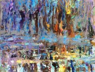 Spejlninger by Natawatts | maleri