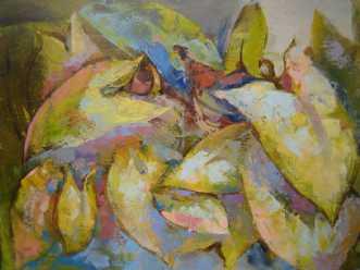 grønne by Natawatts | maleri