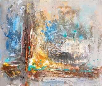 amagertorv by Natawatts | maleri