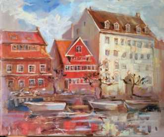 Christianshavn I by Natawatts | maleri