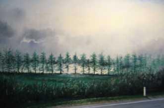 Klitvej i dis by Jan Schuler | maleri