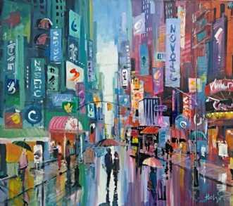 Manhattan Broadway 5pmafHolger Poulsen