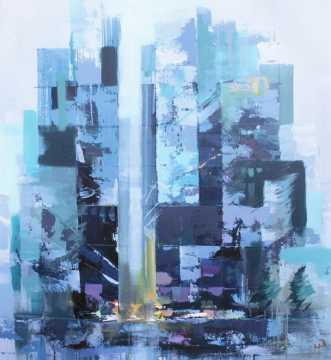 Blue hour by Holger Poulsen | maleri