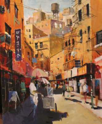 Lazy Afternoon in ChinatownafHolger Poulsen