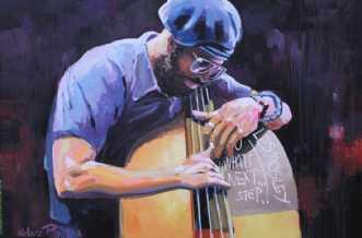 Miles Mosley by Holger Poulsen | maleri