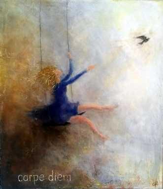 Carpe Diem by Grete Ryberg Høgh | maleri