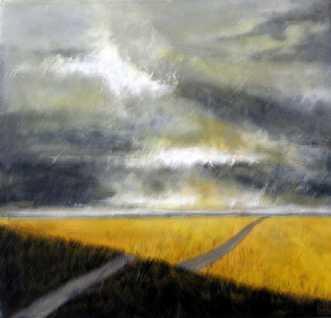 Summer by Grete Ryberg Høgh | maleri
