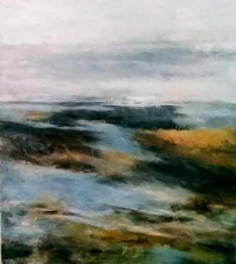 Thaw by Grete Ryberg Høgh | maleri