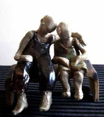 Brothers by Grete Ryberg Høgh | keramik