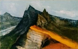 Himalya by Grete Ryberg Høgh | maleri