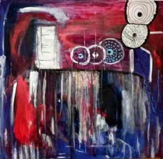Tidens hjul by Naja Anthonsen | maleri