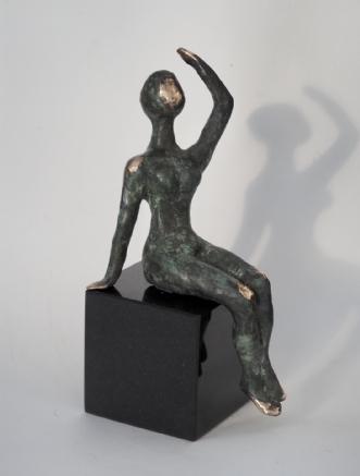 Unika Bronze skulptur på granit | Kunst
