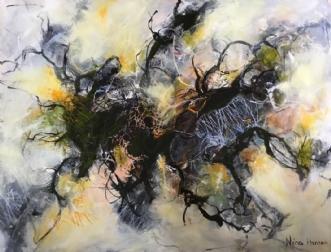 Uden titel 101 by Nina Hansen | maleri