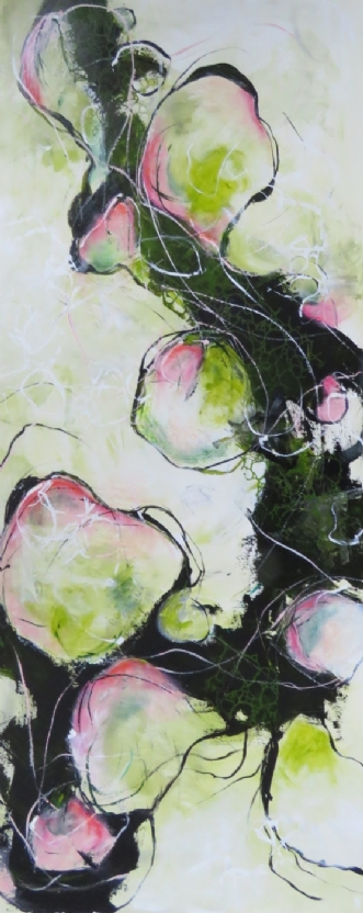 Forår by Nina Hansen | maleri