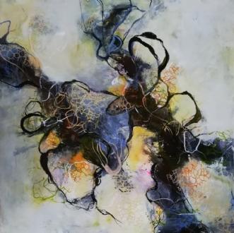 Ingen titel by Nina Hansen | maleri