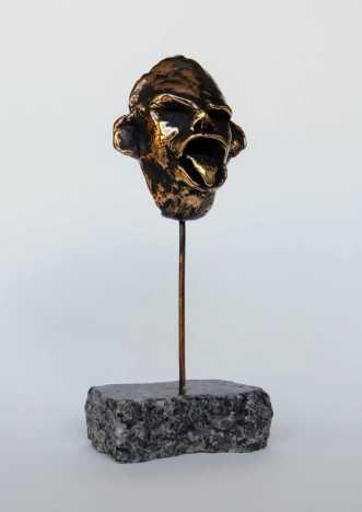 Maske  by Nina Hansen | skulptur