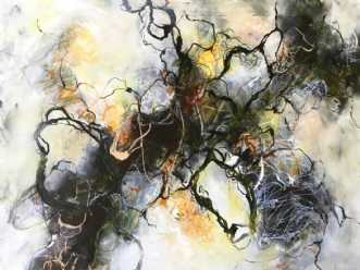 Ingen titel. by Nina Hansen | maleri