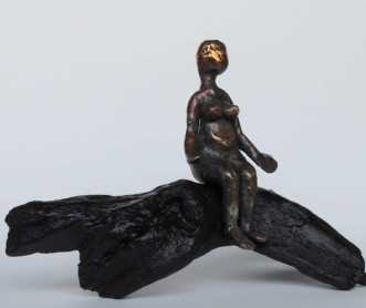 Bronse skulptur dam.. by Nina Hansen | skulptur