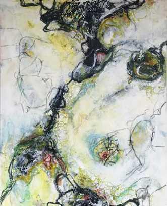 No name 1 by Nina Hansen | maleri