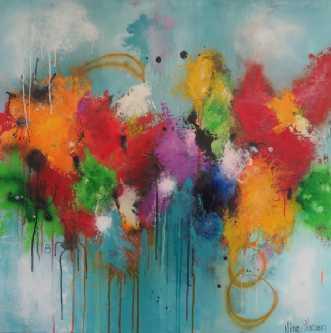Maleri af Nina Hansen