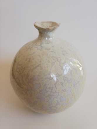 Vase i stentøj. Kry.. by Nina Hansen | keramik