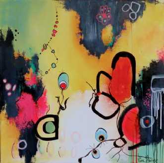 Colorful by Nina Hansen | maleri