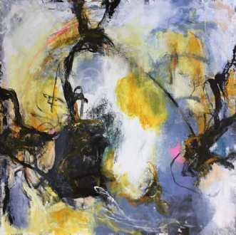 No name 41 by Nina Hansen | maleri