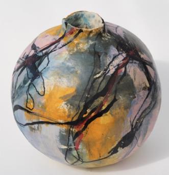 Stentøjsvase stori  by Nina Hansen | keramik