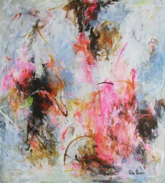Uden titel #  by Nina Hansen | maleri
