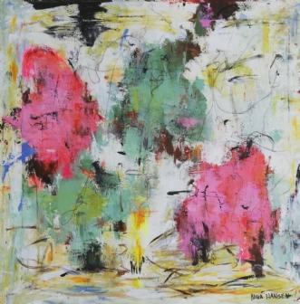 Akryl på lærred by Nina Hansen | maleri