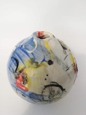 Underglasur malet p.. by Nina Hansen | keramik