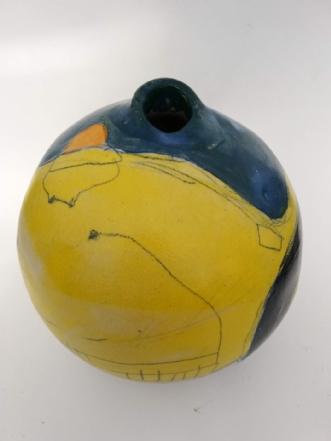 Stentøj krukke male.. by Nina Hansen | keramik