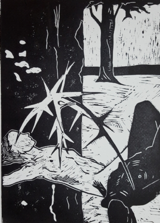 Kontrasters modsætn.. by Britta Ortiz | tegning