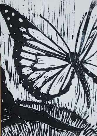 Uden titel by Britta Ortiz | maleri
