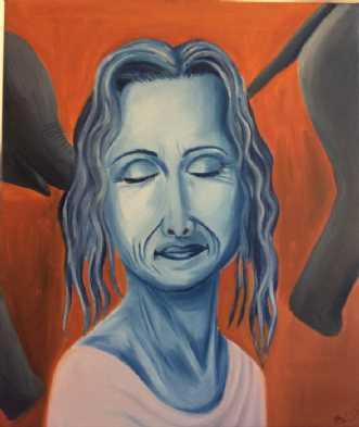 Dagdrømmeri by Britta Ortiz | maleri