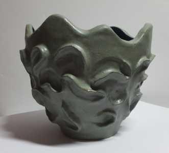 Stentøjskrukke uden.. by Britta Ortiz | keramik