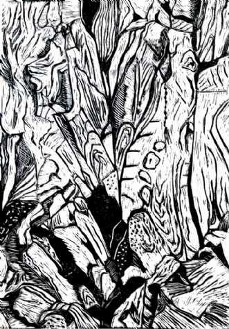 Naturens finurlighe.. by Britta Ortiz | grafik