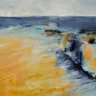 428 Livet i stort o.. by Helle L. Christensen | maleri