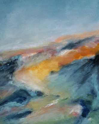 441 Lutter lyse min.. by Helle L. Christensen | maleri
