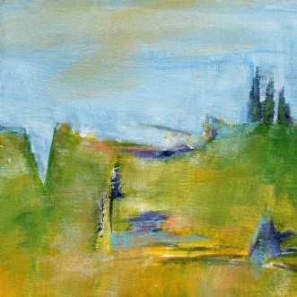 426 På kanten af .... by Helle L. Christensen | maleri