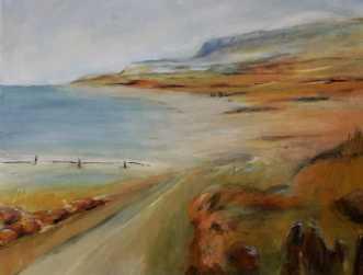 410 Med udsigt til .. by Helle L. Christensen | maleri