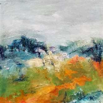 340 Naturens poesi by Helle L. Christensen | maleri